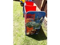 Cars toy storage and book shelf