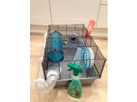 Pets At Home Hamster Cage with great accessories