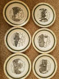 Collectanle plates