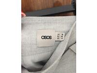 ASOS grey skirt