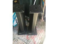 Hifi speaker stands pair atacama 70cm tall