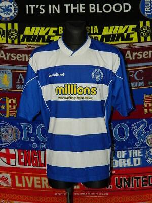 5/5 Greenock Morton adults XXL 2004 home football shirt jersey image