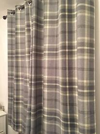 Dunelm curtains - perfect condition