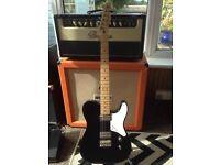 Fender Cabronita Telecaster and Fender Gigbag
