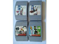 N64 games bundle. 16 games. Cartridge only.