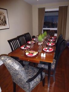 Dinning table set by Ethan Allen