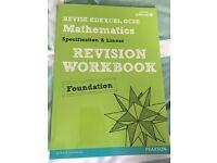 GCSE Maths foundation edexcel revision workbook