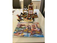 My Lego fire station set