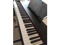 Chase P-50 Digital piano, 88 keys, £280. 1 year old. Rarely used, in a very new condition