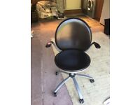 Dark Brown swivel office chair