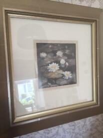 Ethel Walker print in silver frame