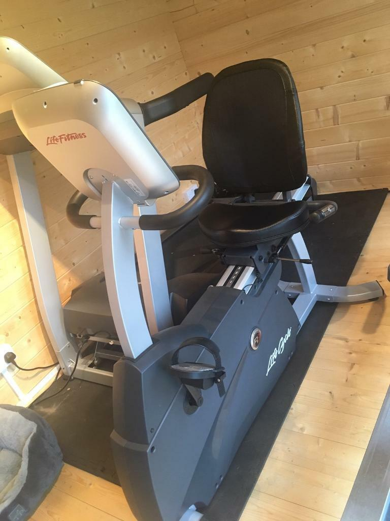 SOLD Life Fitness Bike R3