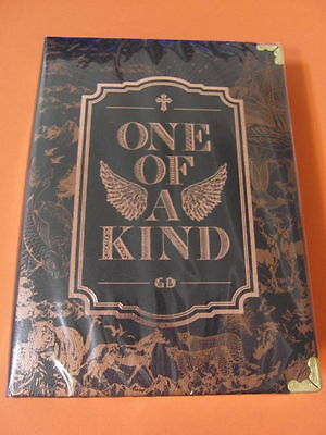 G-DRAGON - One Of A Kind (BRONZE EDITION) CD w/ BOOK BIGBANG K-POP GD