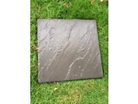 paving slabs in charcoal