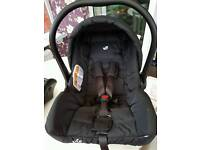 Joie car seat and Base