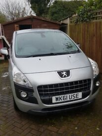 Peugeot 3008 1.6 hdi active silver