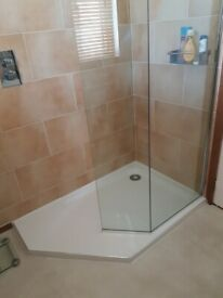 Darlyl Walk In Shower Base and Enclosure