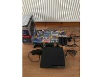 PS3 250GB console bundle with accessories
