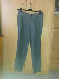Oui - designer Harem style Silk trousers size 10