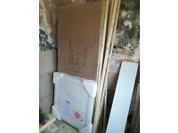 Premier Ella Pivot Shower enclosure 800x800 plus tray