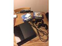 PS4-Used but in very good condition with 2 controllers, 9 games, the playstation camera and headset