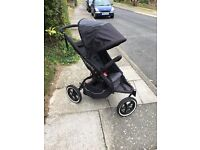 PHIL AND TEDS DOUBLE BUGGY REDUCED