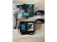 Makita DHR171Z 18V Cordless Brushless SDS Plus Rotary Hammer Drill, 2 x 6Ah Batteries & Charger