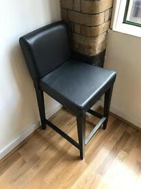 Still Available!! - Free - high leather-look Ikea stool