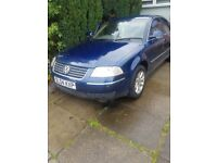 VW Passat with minor engine fault but a good runner and luxury fully loaded interior
