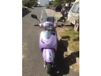 Lifan125 scooter