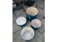 Ludwig 5 Piece Drum Set