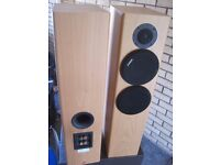 SONY FLOOR STANDING SPEAKERS, MODEL SS-B4ED