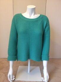 Brand new green Louche womens jumper size 10