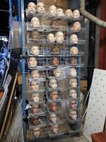 USED-NEW RECYCLED STORE FIXTURES DISPLAYS MANNEQUINS
