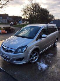 Over 1 year MOT, Vauxhall Zafira 1.8 Sport