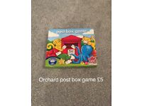 Orchard game post box