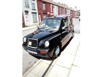 Liverpool Hackney Cab TX2 Bronze Nissan 2.7 Conversion and Plate For Sale