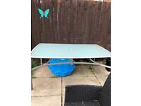Large used garden table for free
