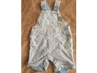 Baby boys dungarees/shorts