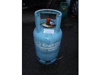7kg Butane cylinder - Over half full
