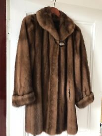 Real Canadian Mink Coat