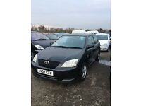 02 Toyota Corolla vvti in superb condition service history 3 dr sporty car drives like new px welc