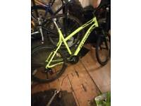 This is my new rockrider btwin 340 mountain bike for sale or swap only for a iphone 6 plus