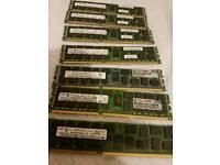 Samsung 8gig ddr3 server ram x7