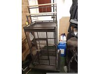 Parrot cage large
