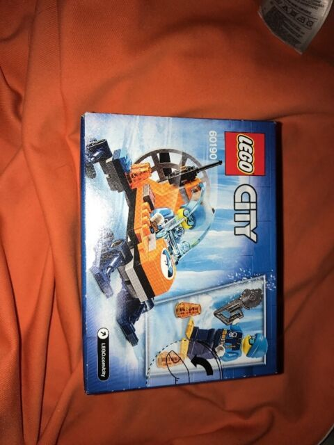 LEGO 60190 City Artic Expedition Ice Glider Playset NEW
