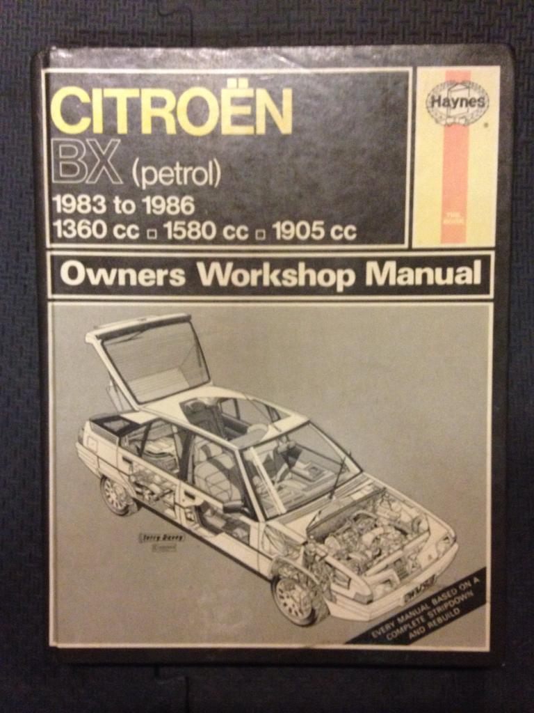 Citroen BX Haynes Manual