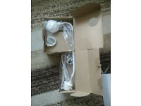 Ikea Mil Lamp – White