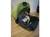 Baby car seat from newborn to 13kg