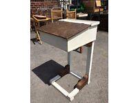 Vintage School Desk - Vintage Child's Desk - Good Sturdy Condition - Reduced